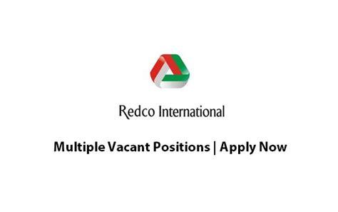 redco international jobs september