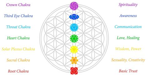 Color Meanings by What Your 7 Chakras Say About Your Happiness