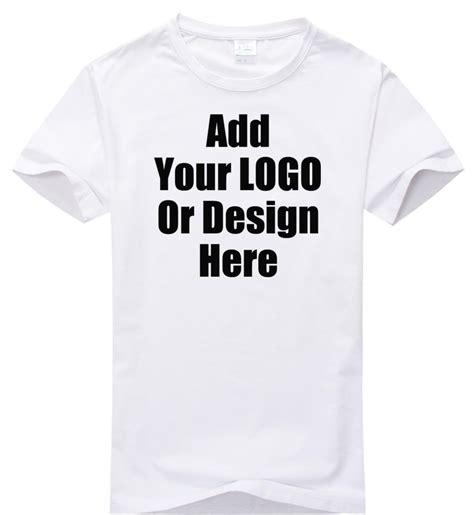 design logo shirts online high quality custom logo shirt plain t shirt 200 gram logo