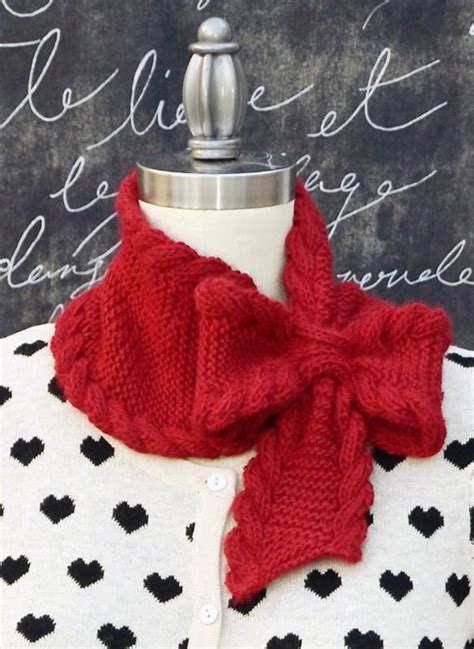 knitted bow pattern free knitting patterns knitting and bow ties on