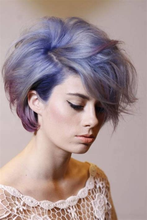 short hair popular hair colors top 22 short natural hairstyles with color ideas