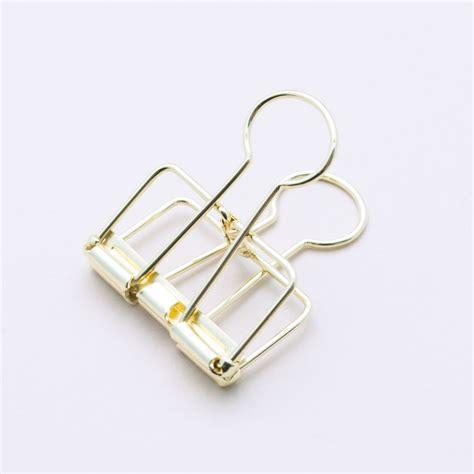 Binder Klips gold binder clip medium hopscotch