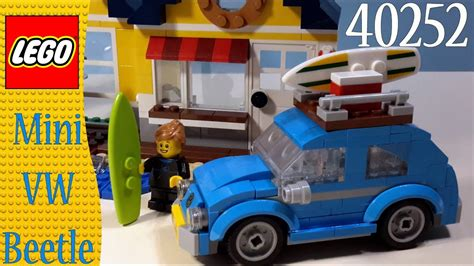 lego volkswagen mini lego creator 40252 mini vw beetle build