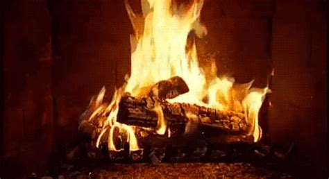 fireplace animated gif