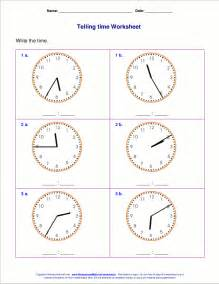 telling time to the minute worksheets abitlikethis