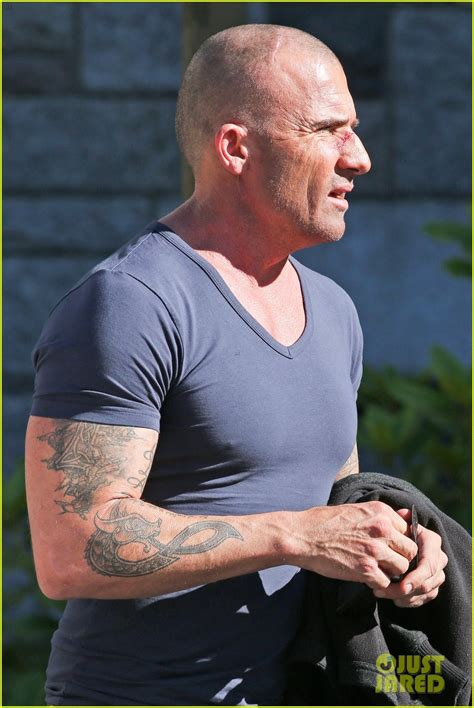 dominic purcell tattoos wentworth miller dominic purcell take a from