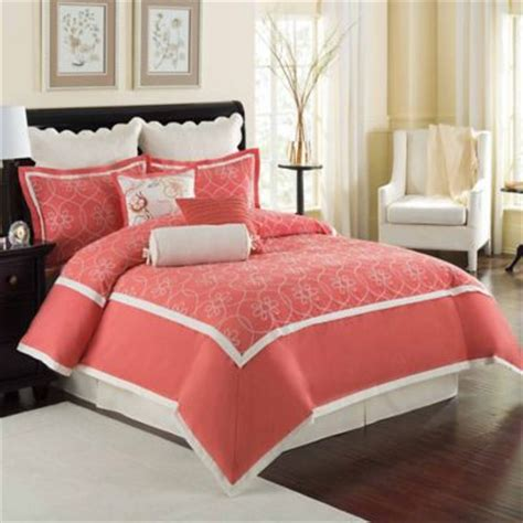 coral queen comforter sets buy coral patterned comforter from bed bath beyond
