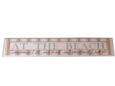 beach signs home decor buy wooden at the beach sign 23 inch nautical decor