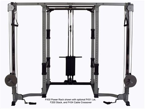 Rack Power Cable by Bodycraft F434 Cable Crossover The Fitness Superstore