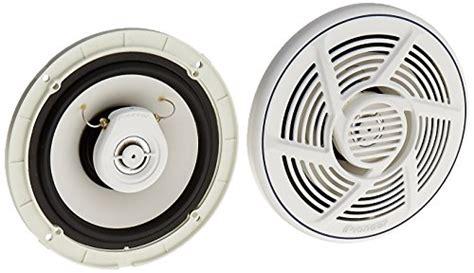 pioneer boat speakers pioneer ts mr1640 6 5 inch 2 way marine speakers marine