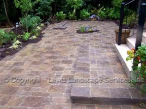 Patio With Pavers Lewis Landscape Services Paver Patios Portland Oregon Beaverton Or Installers Of Paver