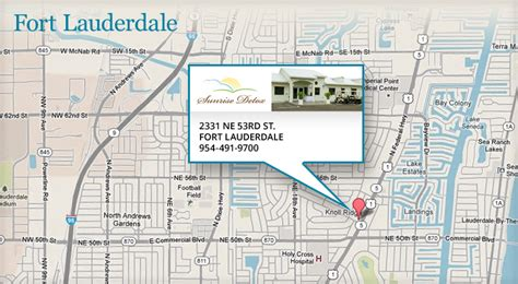Ft Lauderdale Detox by Directions To Ft Lauderdale Detox Center Detox