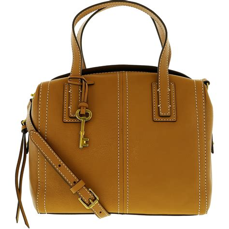 Fussil Womens 2in1 Shoulderbags fossil s convertible leather leather shoulder bag satchel ebay