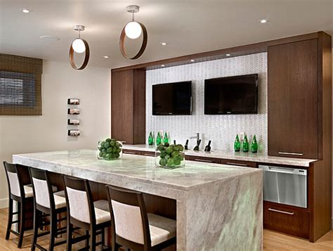 kitchen designs with islands and bars modern kitchen island bar decoist