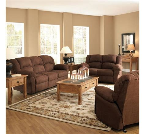 badcock living room furniture family room parker 3 piece living room set all reclining