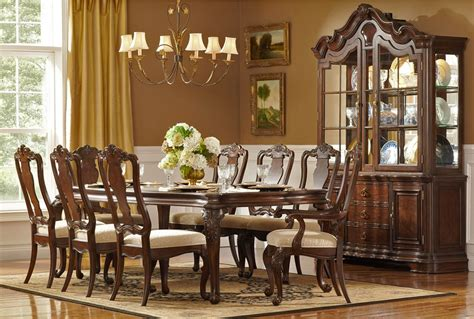 Formal Dining Room Furniture by Arranging Formal Dining Room Set For Home Decoration
