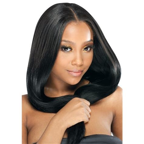 how to weave hair using wrappit styling strips model model ego 100 remy weave virgin remy two pack