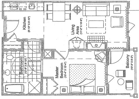 floor plan with balcony 1 bedroom balcony mountain view the appalachian at