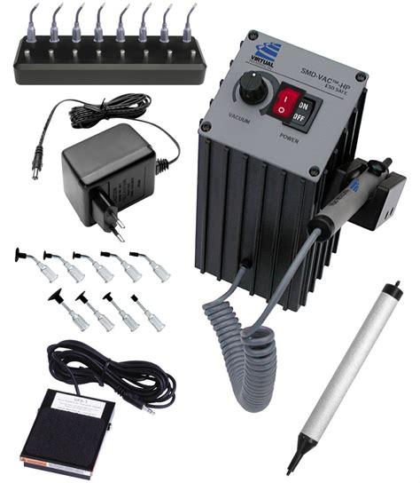 Stand Hp System Sedot Vacum smd vac hp bench top vacuum tweezer system