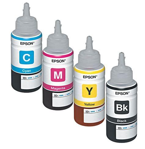 Tinta Epson 141 Cyan Magenta Yelow Original tinta de recarga epson l355 l210 l200 yellow cyan magenta black compulab