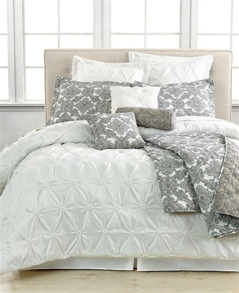 bedding macys jasmine white 10 piece california king comforter set bed