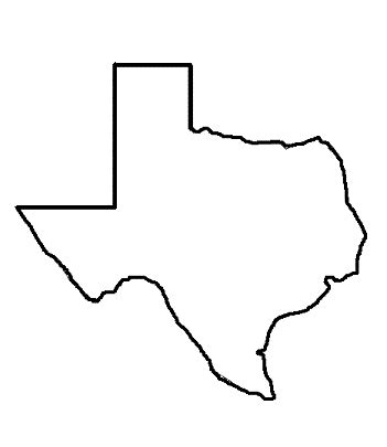 texas state outline map texas outline clip cliparts co