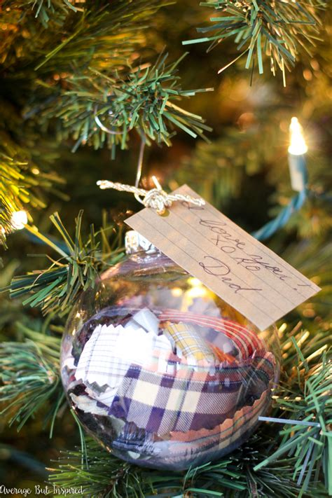 diy memorial ornaments to remember loved ones at christmas