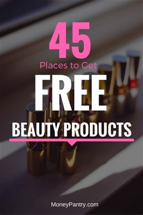 Makeup Surveys For Money - free beauty sles 45 places to get em by mail or online without surveys