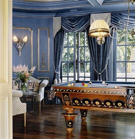blue walls drapes playroom home decorating trends homedit