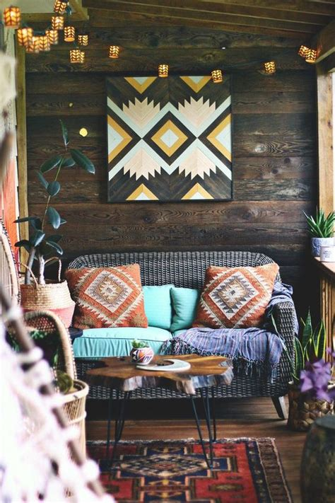 earthbound home decor the boho porch makeover home decor barn wood and wood