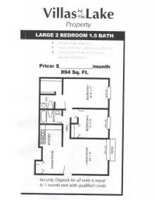 Master Bathroom Floor Plans With Walk In Closet by 2 Bedroom 1 5 Bathrooms Large Floorplan Floor Plan