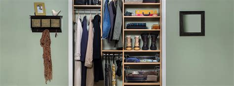 small custom closet design and installation
