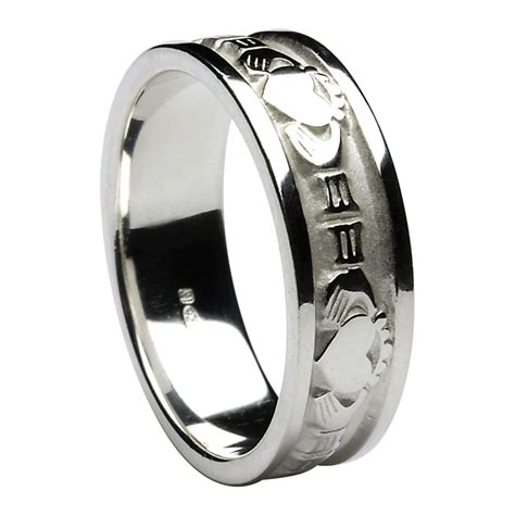 s sterling silver celtic wedding rings