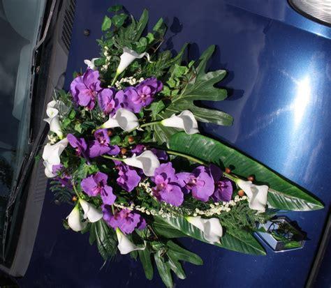 Blumenschmuck Auto Bestellen by Deko Auto Callas Und Orchideen Hochzeitsdekorationen