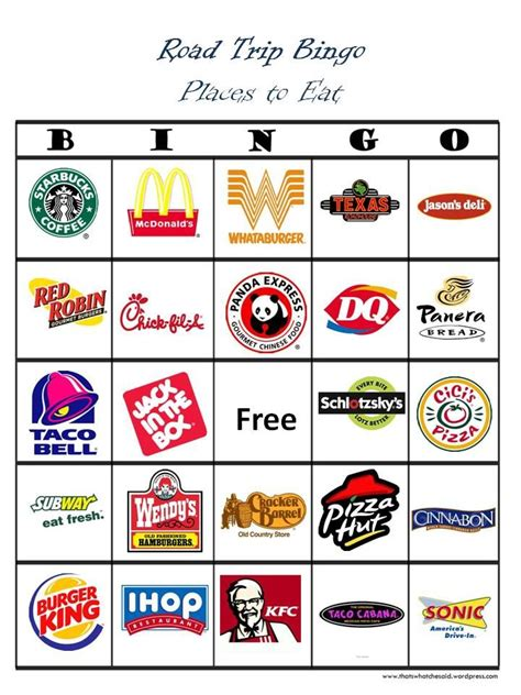 How To Use Opentable Gift Card - 8 best images of printable restaurant bingo cards bingo card template restaurant