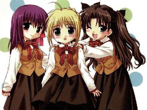 imagenes de anime kawaii de amigas amigas anime 3 miau mi web