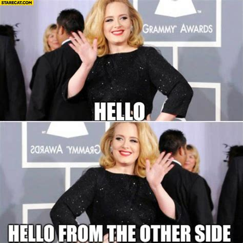 From The Other Side hello from the other side adele mirror reflection image