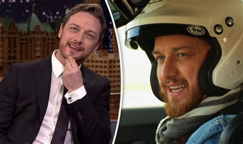 james mcavoy parents top gear james mcavoy shocks with dangerous confession