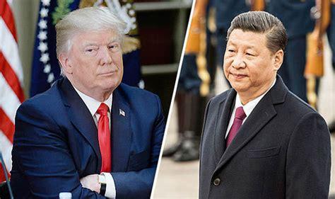 donald trump xi jinping north korea donald trump in talks with xi jinping over menace of