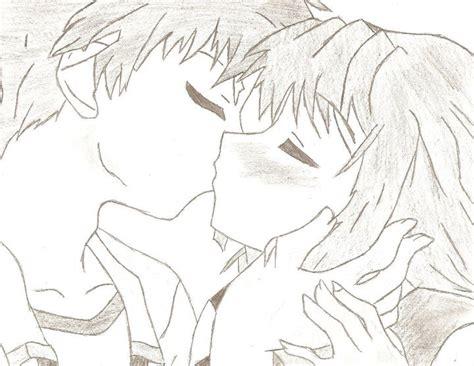 anime couple pp anime couple sketch easy www imgkid com the image kid