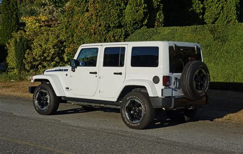 polar jeep wrangler 2014 jeep wrangler unlimited polar edition road test
