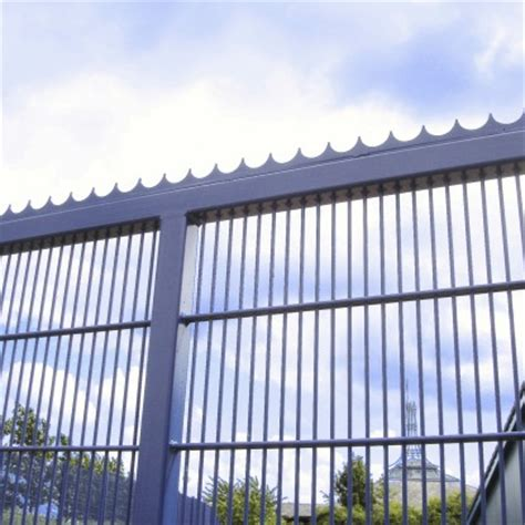 security spike strips fence security toppings zaun ltd