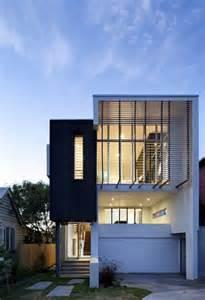 narrow lot house plans modern