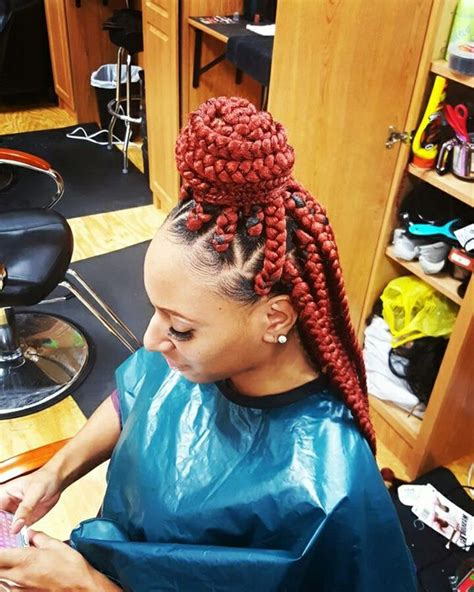 how to part hair for boxed braids jumbo box braids hair pinterest in love the o jays