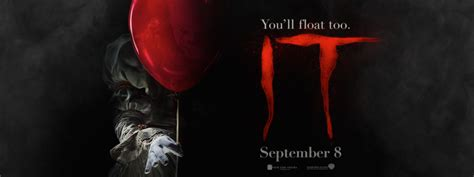 film it you ll float too with the first trailer from stephen king