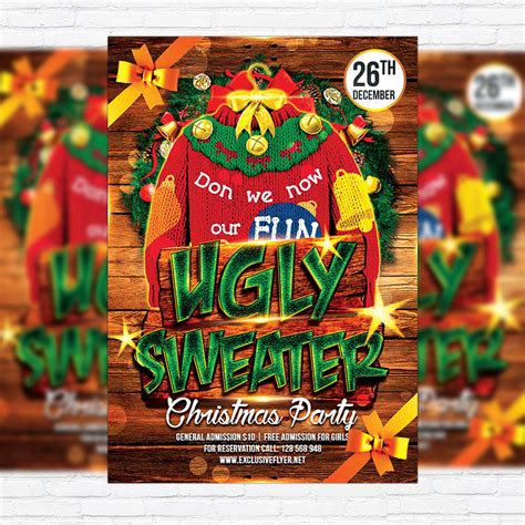 Sweaters Flyers by Sweater Premium Flyer Template