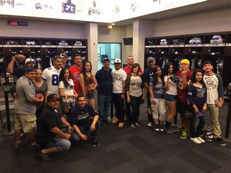 cowboys locker room dallas cowboys tours from el paso tx class packages at an affordable rate 915 tours