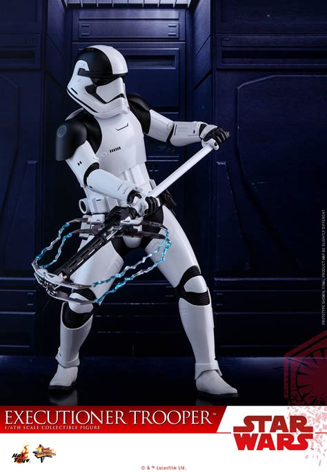 Hottoys Cosbaby Trooper Order wars the last jedi order executioner trooper by toys the toyark news