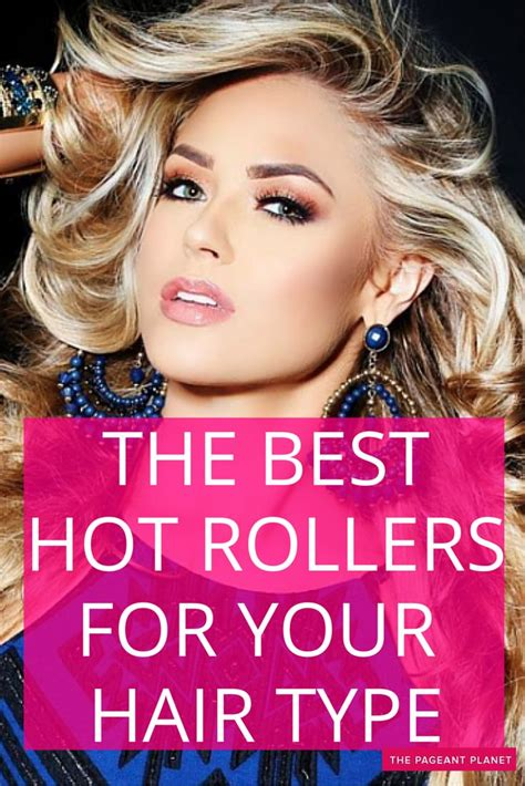 best hair curler for short hair the best hot rollers for your hair type thick hair hot