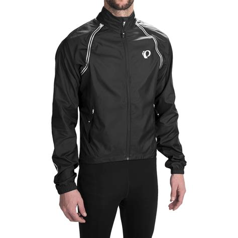 convertible cycling jacket mens pearl izumi elite barrier cycling jacket for save 65